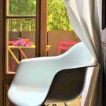 Chaise extérieure chambres atelier d'artiste